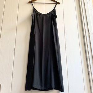 1990s Vintage Sheer Long Slip Dress